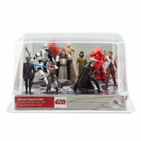 Star Wars Last Jedi Set 10 Figuras Disney Store 2017