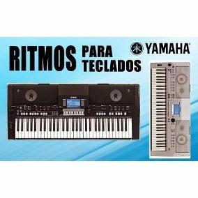 Ritmos Yamaha Psr S550-s650-s700-s710-s750-s900-s910-s1100