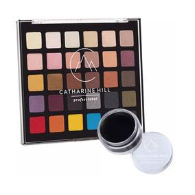 Catharine Hill Kit Paleta De Sombra E Clown Make-up Preto
