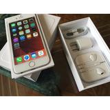 Iphone 6 Silver 16gb, Como Nuevo, Lector De Huella, Libre !