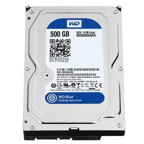 Disco Duro Western Digital 500gb Sata Pc Azul
