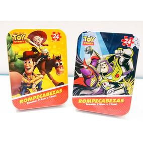 2 Rompecabezas Toy Story - Originales Con Woody Y Buzz Light