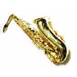 Saxofón Oro Hecho En Usa The Martin Tuneado