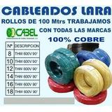 Cables Cabel Nº 6 Awg, 100% Cobre Thw