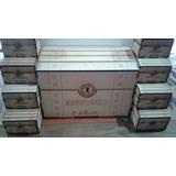 100 Cofres Baules Souvenir Fibrofacil 10 X 7 X 7cm