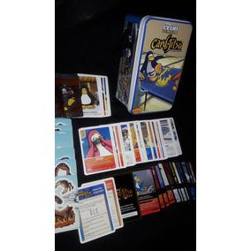 Club Penguin Card Jitsu Fuego Set Completo Y Lata Metalica