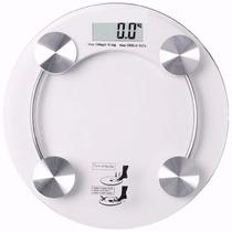Balança Digital Eletrônica Vidro Até 150kg Banheiro Academia