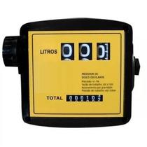 Medidor Mecânico Para Diesel 3 Dígitos 1 Pol Bsp 120l/min