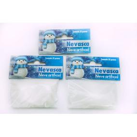 Neve Instantânea 5 Unid Com 20 Gramas Especial Para Slime