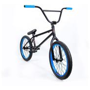Bicicleta Bmx Fad - Liviana Y Resistente! Negra Y Azul Pro