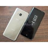 Samsung S8 Dorado Y Negro 64 Gb Libre