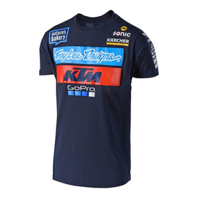 Playera Troy Lee Ktm Team Tee Azul 2018 Envio Gratis