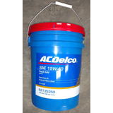 Aceite Lubricante Acdelco 15w40 Mineral Paila Diesel Gasolin