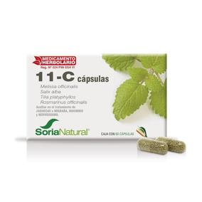 11-c Capsulas Caja Con 60 Capsulas 37124 Soria Natural