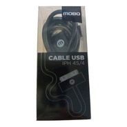 Cable Usb iPhone 4 Mobo 30 Pines Azul