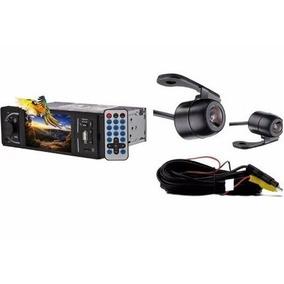 Mp5 Player Som Automotivo Bluetooth Tela 4p + Câmera De Ré