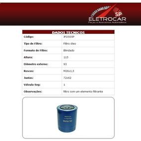 Filtro De Óleo Hyundai Galloper 2.5 Td Turbo Diesel 98 A 99