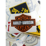 Calcomania Harley Davidson Motor Cycles Para Tu Moto