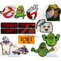 Parche Bordado The Real Ghostbusters Cazafantasmas X Unidad