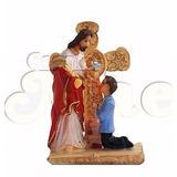6 Un Imagem Lembrança Primeira Eucaristia Menino -jesus 8 Cm