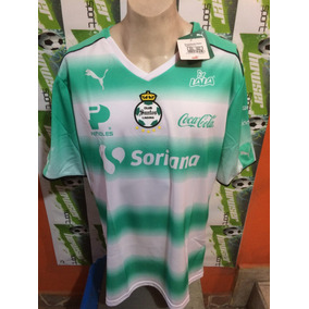 Jersey Santos Laguna De Torreon Puma Local 2017 100%original