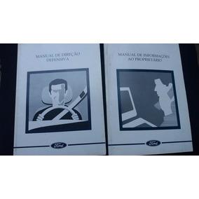 Manual Do Proprietário Ford Mondeo Original