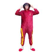 Pijama Macacão Harry Potter Hogwarts Grifinória Adulto P