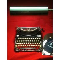 Máquina Antigua -lámpara De Escritorio-articulada- Vintage