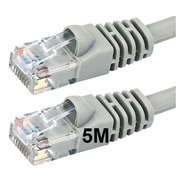 Cable Red Patch Cord 5 Mts Utp Pc Cat 6 Rj45 Ditron
