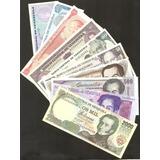 Coleccion De 10 Billetes Antiguos Sin Circular Bs 258.999._