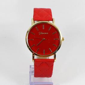 1647ef637a6 Lindo Chaveiro Vermelho Em Couro - Relógio Masculino no Mercado ...