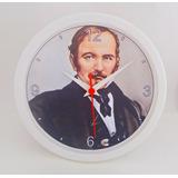 Relógio De Parede - Allan Kardec - Clássico 24 Fundo B Ou P