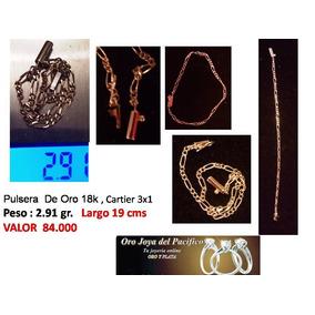 Pulsera Cartier , Oro 18 Kts