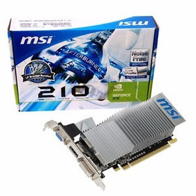 Tarjeta De Video Msi Nvidia Geforce 210 1gb Ddr 3
