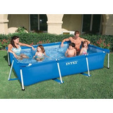 Pileta Intex 28272 C/bomba 300x200x75cm Aloise Virtual