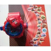 Brinquedo Infantil Relógio Digital Projetor De Imagem Carros