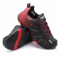 Zapatillas Fila Slant Summer 2.0 Urbana Envíos Negro Rojo
