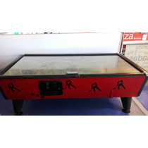 Maquina Air Hockey Acero Inoxidable