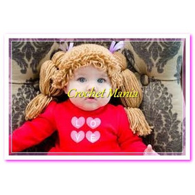 Gorros A Crochet Muñeca Cabbage Patch 2