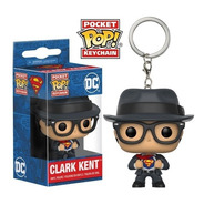 Pocket Pop Llavero Clark Kent Superman Dc Comics Funko