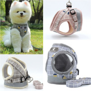 Coleira Peitoral Guia Para Cachorros Gato Pequenos Pet Xadre