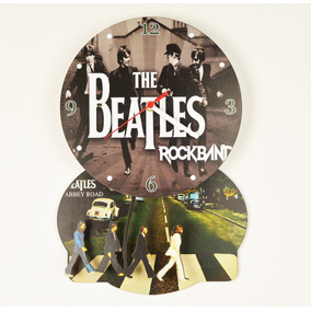 Relógio Parede De Pêndulo - The Beatles Abbey