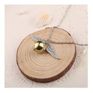 Collar Golden Snitch Dorada Harry Potter Acero Quidditch Ala