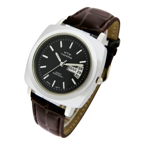 Reloj Montreal Caballero Ml071 Tienda Oficial Envio Gratis