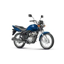 Tanque Combustível Moto Honda Cg125 Fan Azul 2013 + Frete