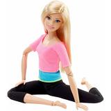 Muñeca Barbie Made To Move Yoga Original Articulada