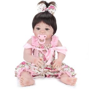 Bebe Reborn 55cm Hiper Realista Silicone Frete Gratis