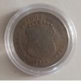 Dificil Moneda Venezuela 12 1/2 Céntimos 1925 Vg/f