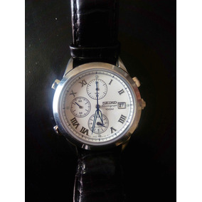 Reloj Seiko Chronograph 100 - Cristal De Zafiro