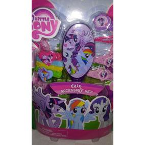 Set De Accesorios Para Cabello My Little Pony! Envio Gratis